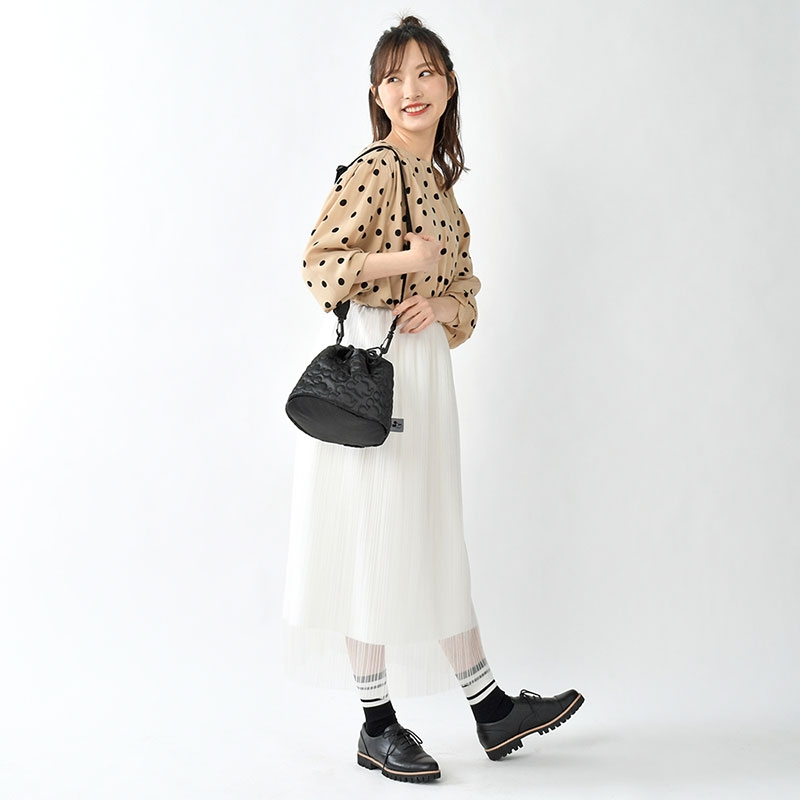 ミッキー ショルダーバッグ 2WAY Shoulder&Body Bag