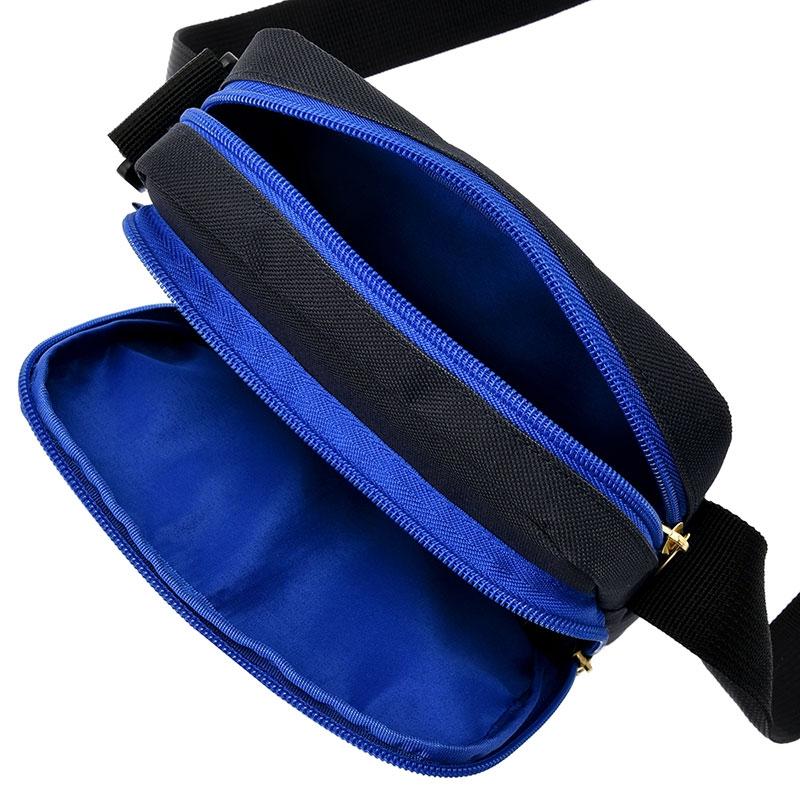 ミッキー ショルダーバッグ ブラック カラフルロゴ Shoulder&Body Bag