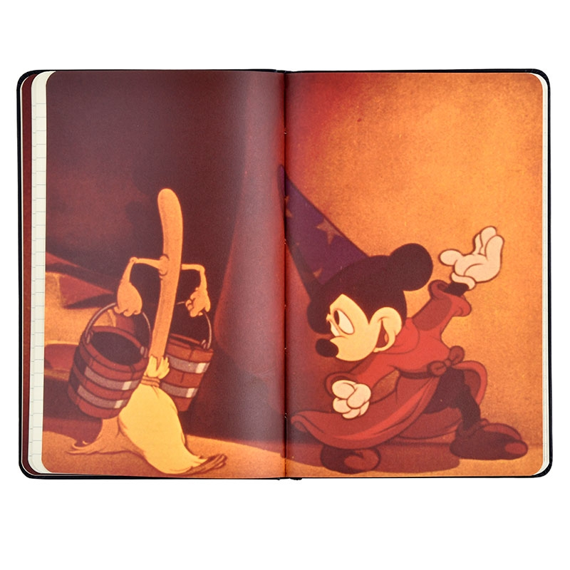 【MOLESKINE】ミッキー ノートブック FANTASIA Mickey Mouse Birthday