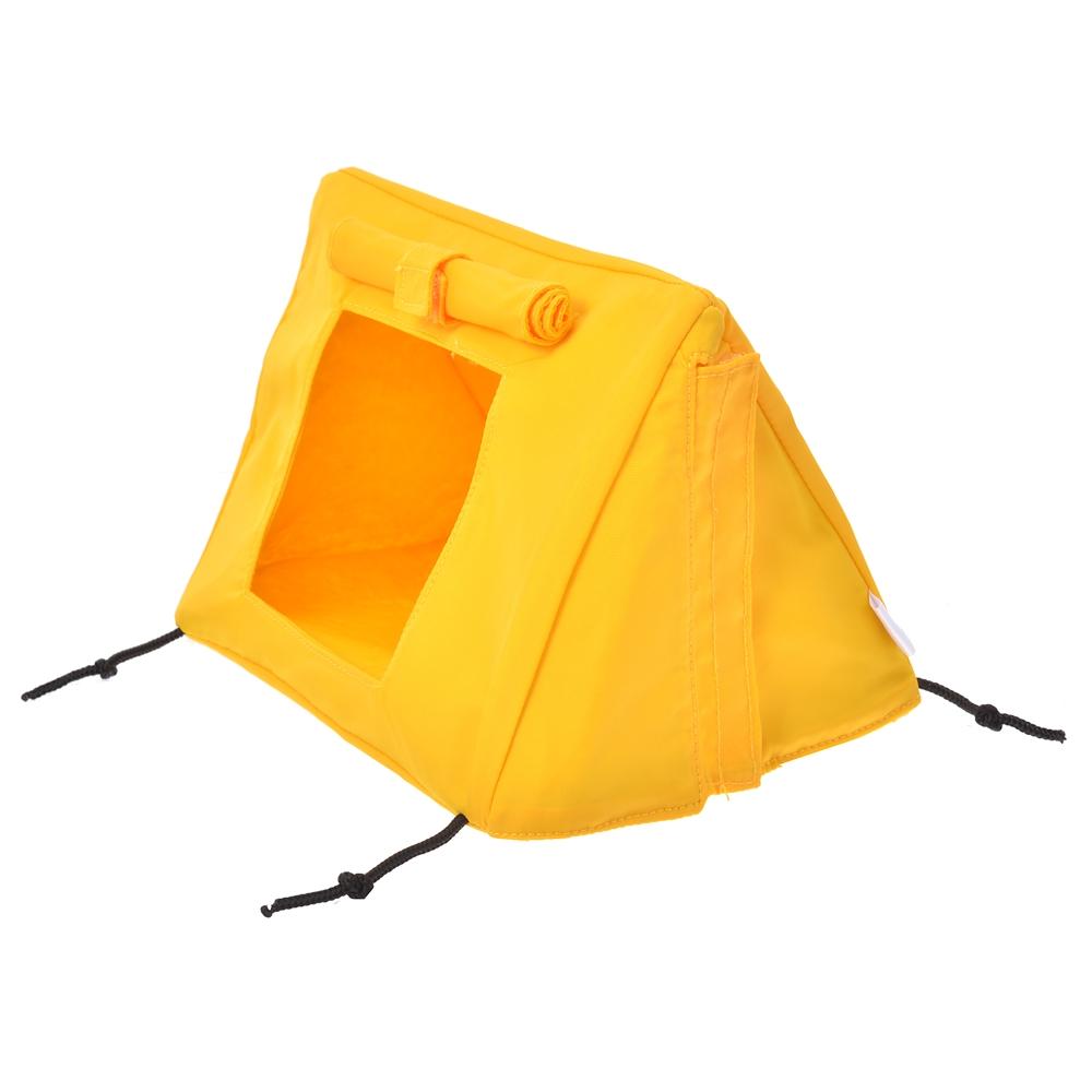 nuiMOs ぬいぐるみ専用テント イエロー