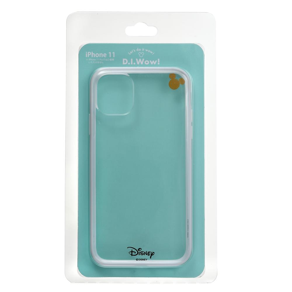 ミッキー iPhone 11用スマホケース・カバー ホワイト D.I.Wow!