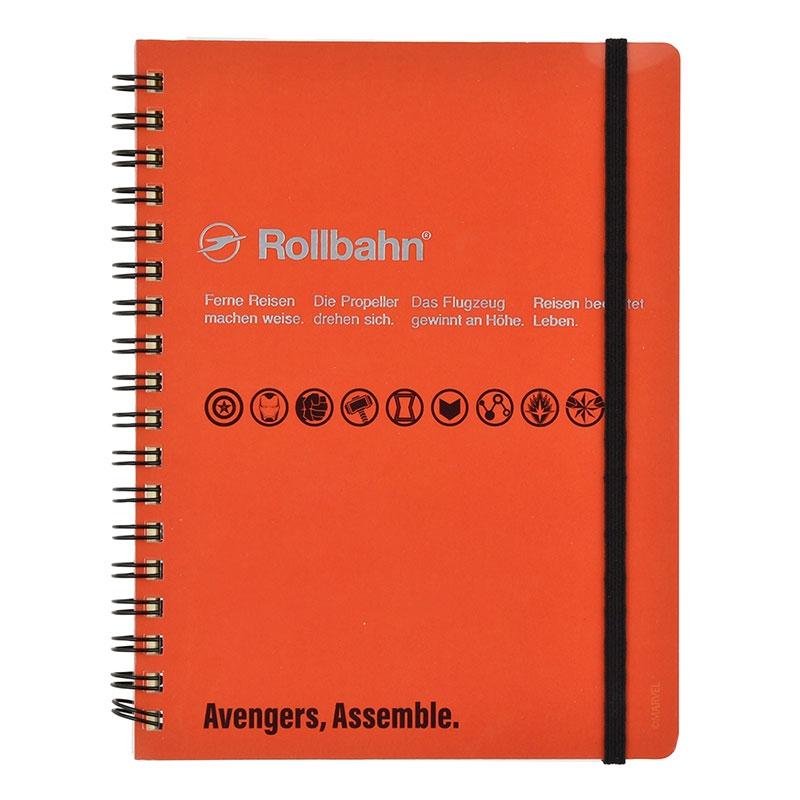 【デルフォニックス】マーベル シンボルマーク Rollbahn ポケット付メモ Icon Collection