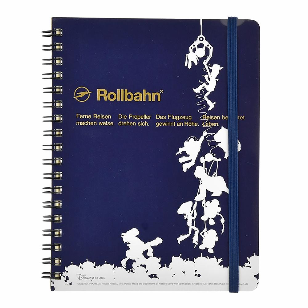 【デルフォニックス】トイ・ストーリー Rollbahn ポケット付メモ PIXAR Otona Stationery