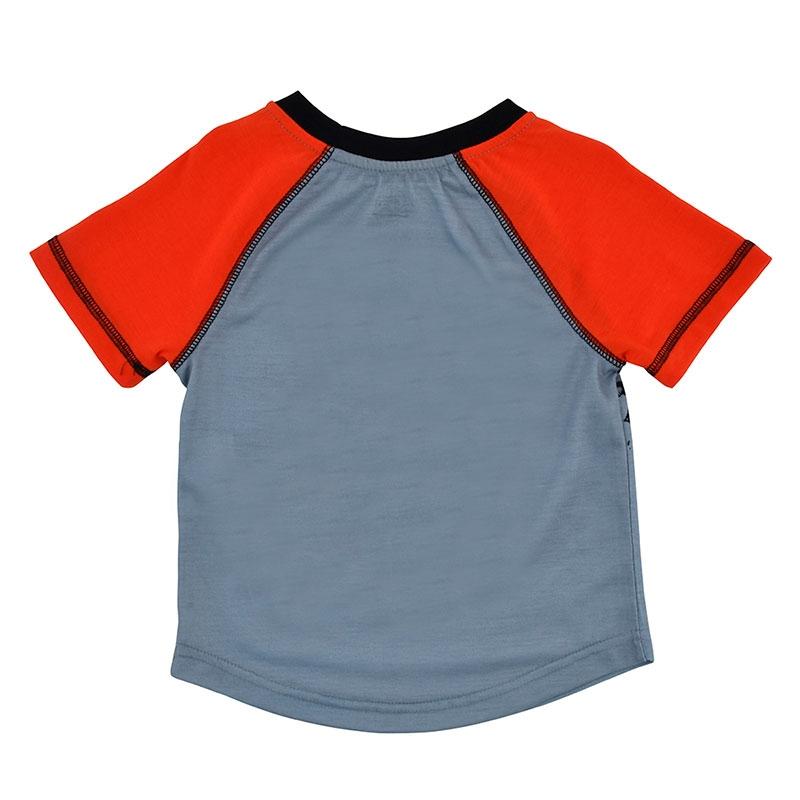 ライトニング・マックィーン キッズ用半袖パジャマ(100) ラグラン