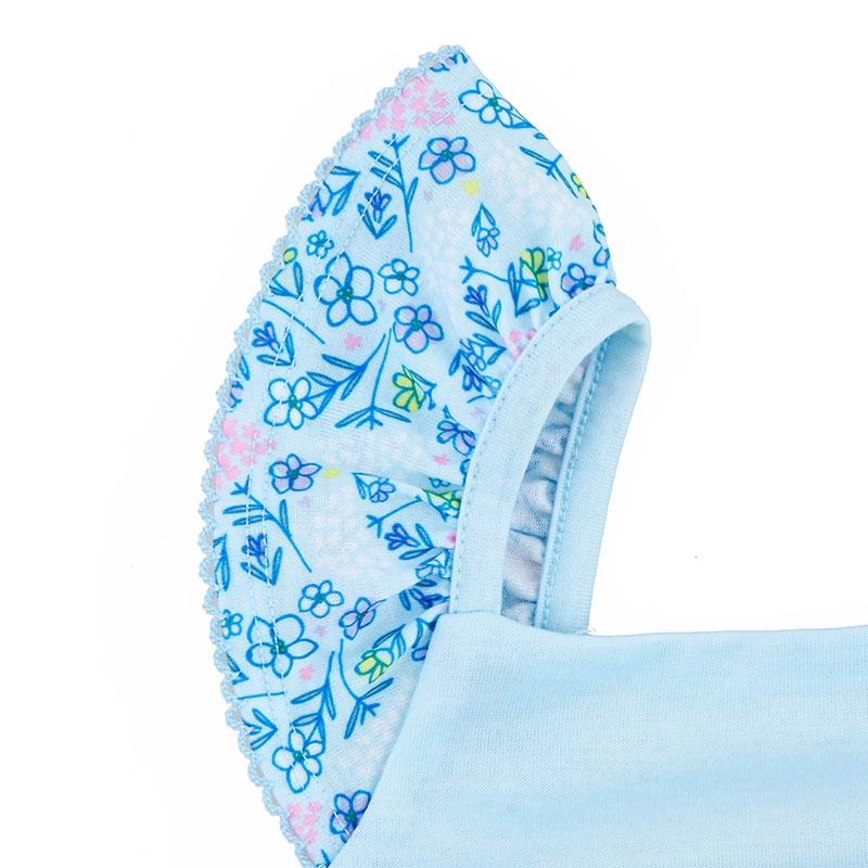 エルサ キッズ用パジャマ(100) 花柄