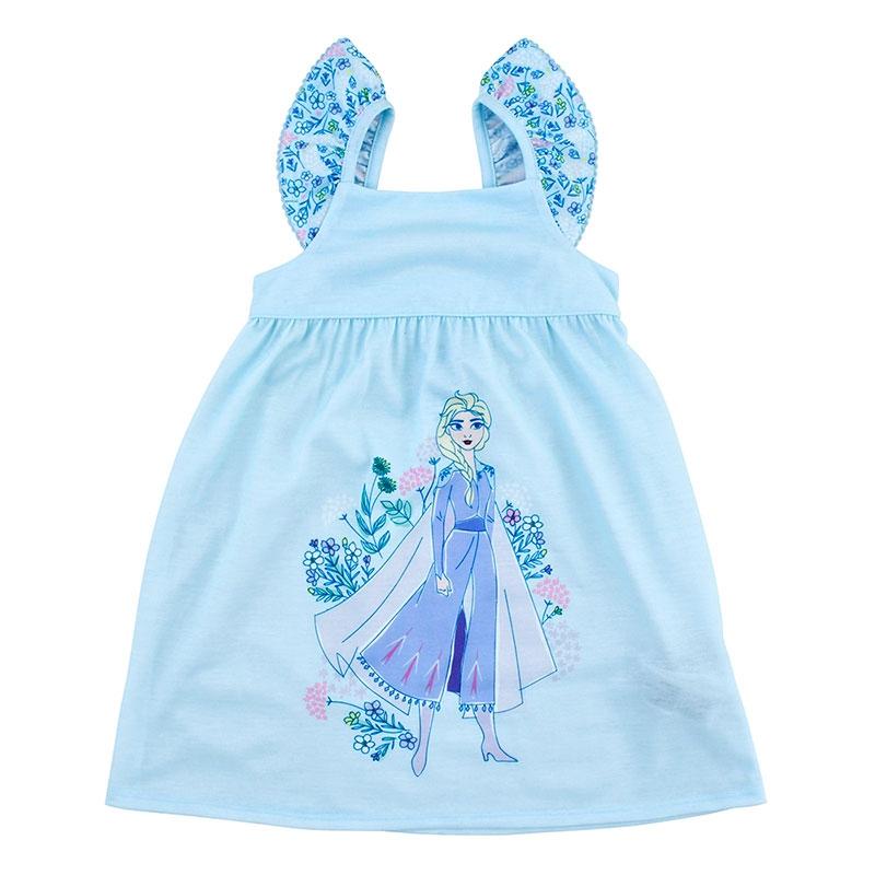 エルサ キッズ用パジャマ(110) 花柄
