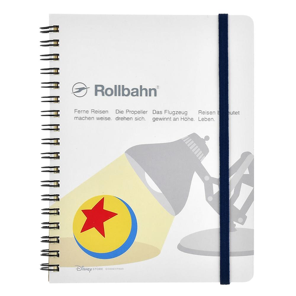 【デルフォニックス】ルクソーJr. Rollbahn ポケット付メモ PIXAR Otona Stationery