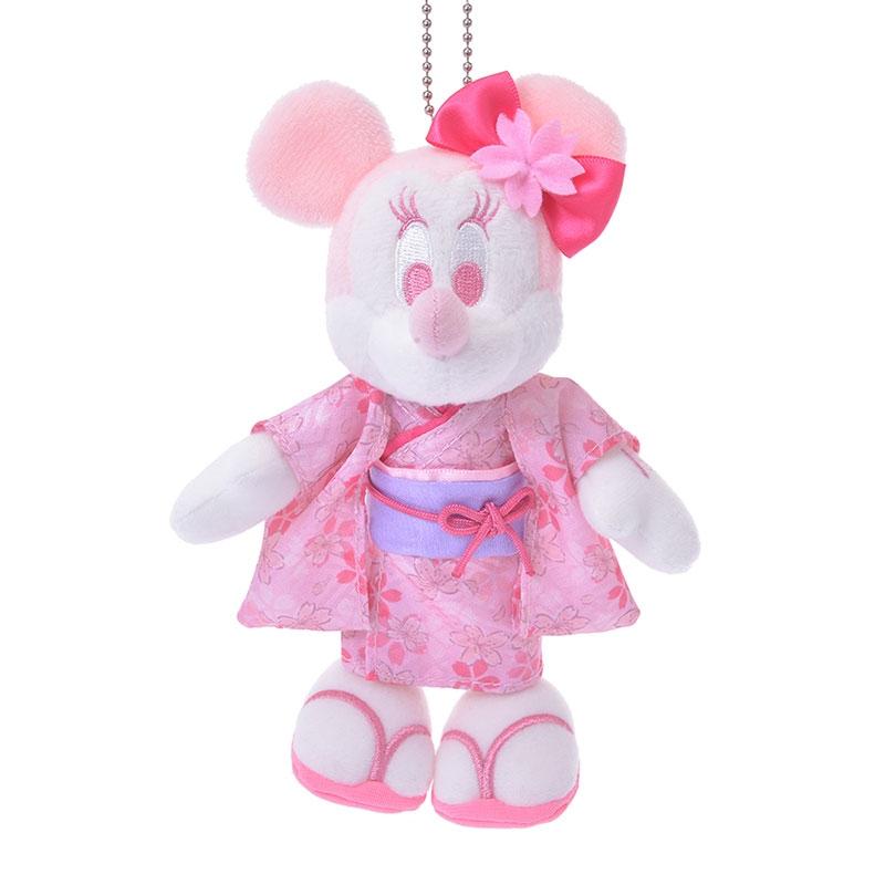 ミニー ぬいぐるみキーホルダー・キーチェーン Sakura 2020