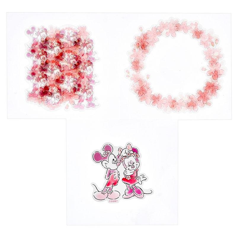 ミッキー&ミニー シール・ステッカー Sakura 2020