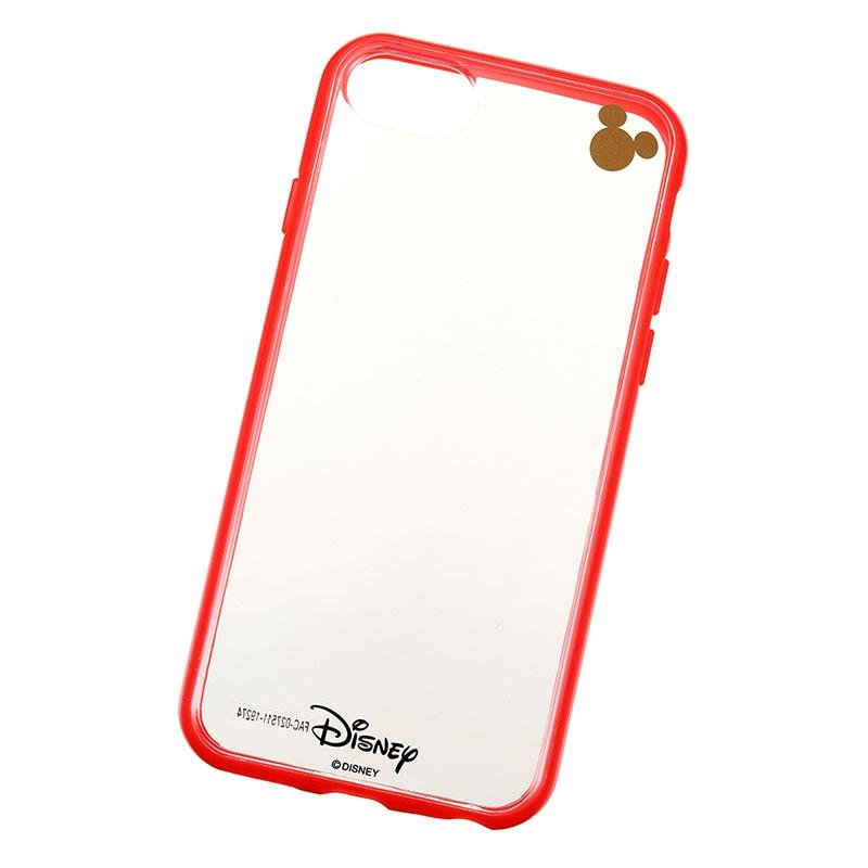 【アウトレット】ミッキー iPhone 6/6s/7/8用スマホケース・カバー レッド D.I.Wow!