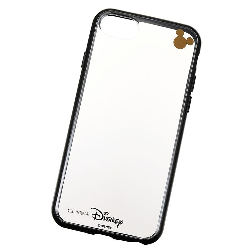 ミッキー iPhone 6/6s/7/8用スマホケース・カバー ブラック D.I.Wow!