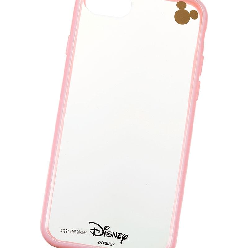 ミッキー iPhone 6/6s/7/8用スマホケース・カバー ピンク D.I.Wow!