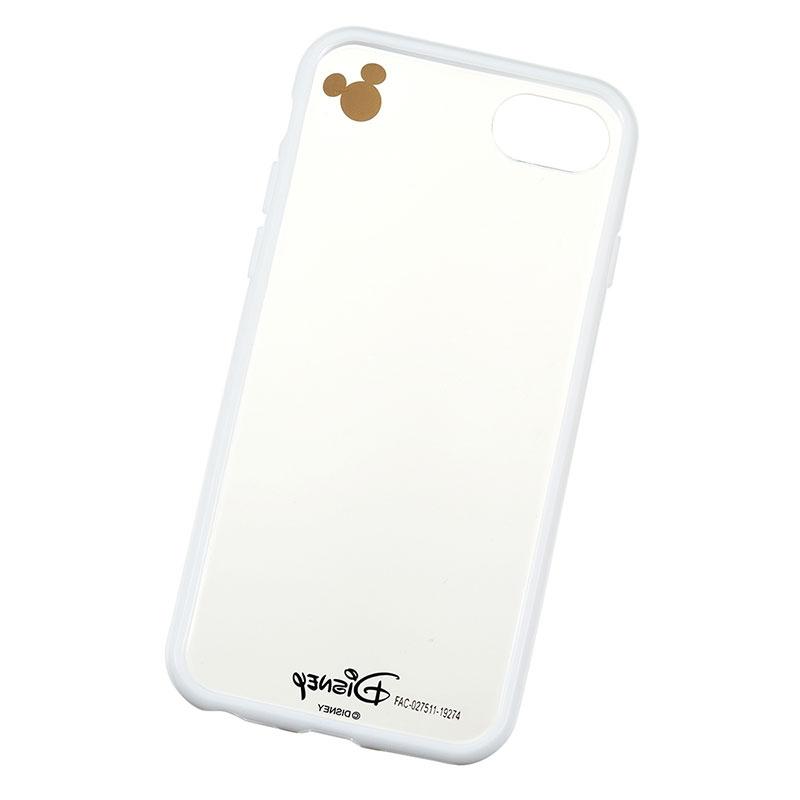 ミッキー iPhone 6/6s/7/8用スマホケース・カバー ホワイト D.I.Wow!