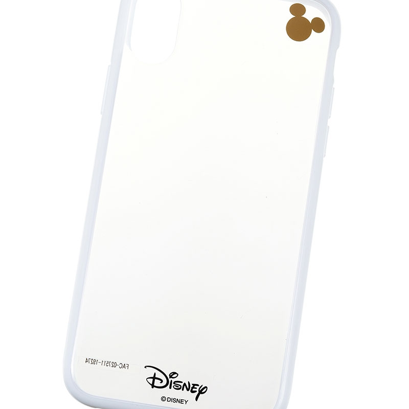 ミッキー iPhone X/XS用スマホケース・カバー ホワイト D.I.Wow!