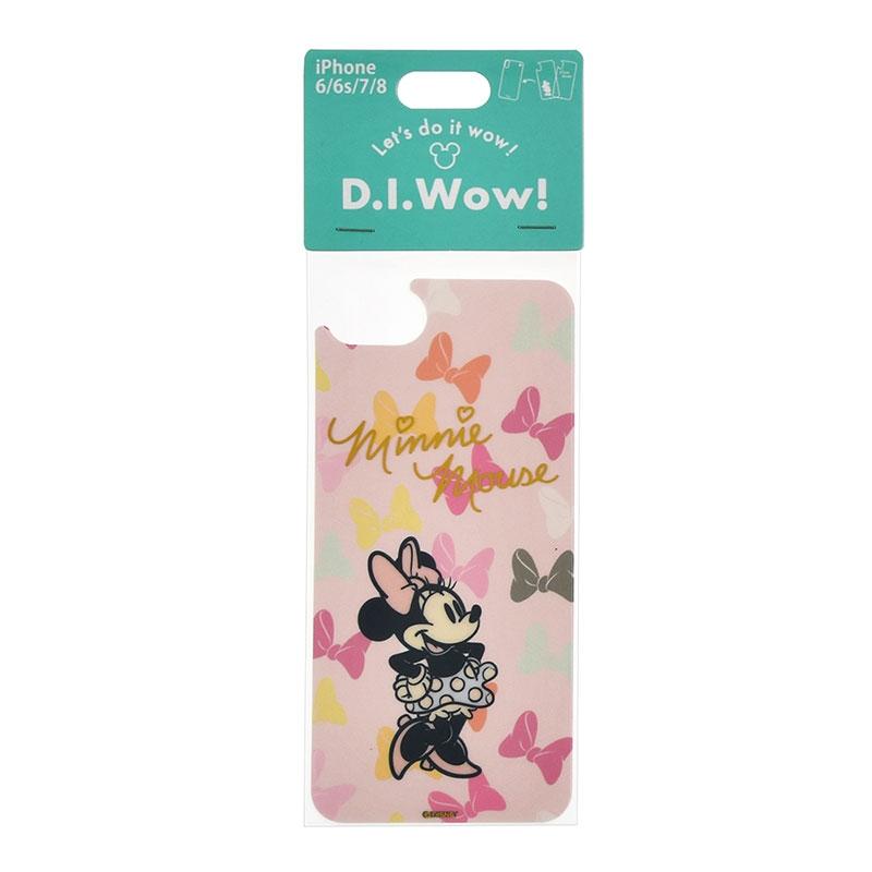 ミニー 着せ替えシート iPhone 6/6s/7/8用 D.I.Wow!
