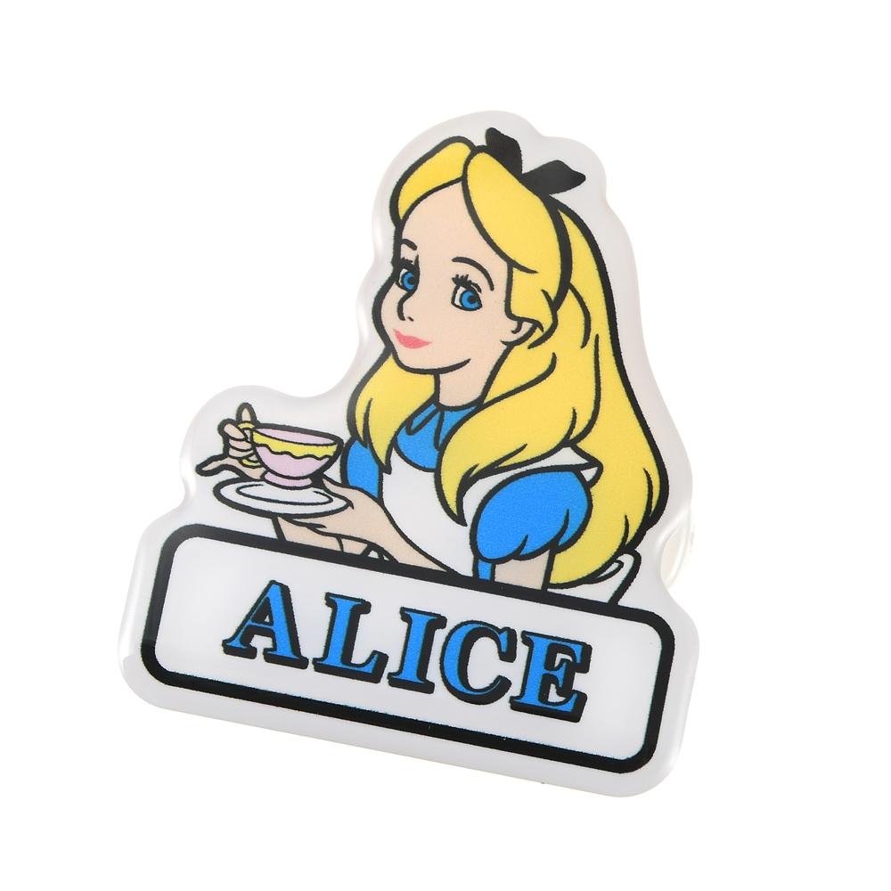 アリス バッジ クリップ 両用タイプ