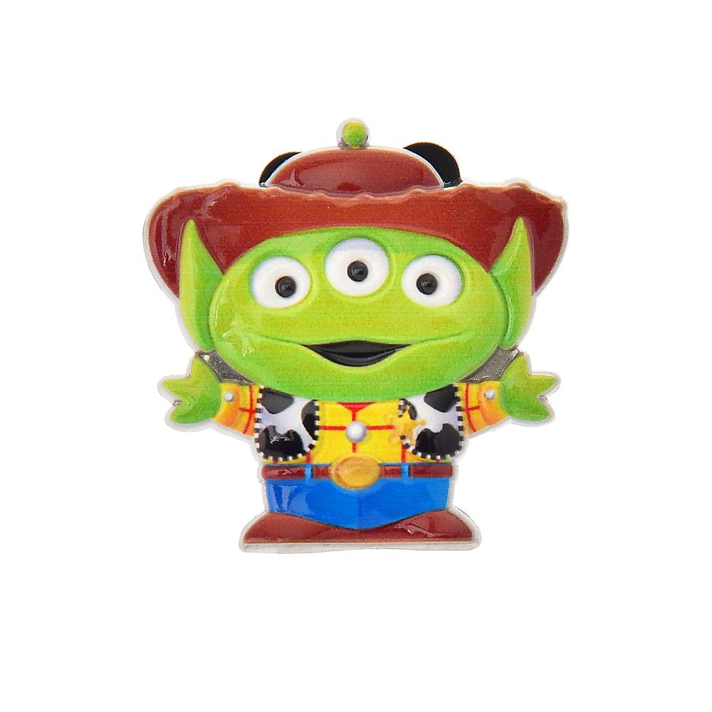 リトル・グリーン・メン/エイリアン ピンバッジ ウッディコスチュームエイリアン Toy Story 25th