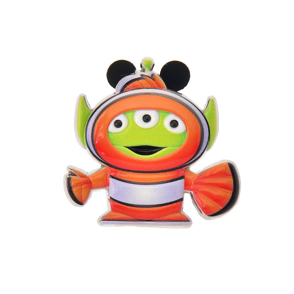 リトル・グリーン・メン/エイリアン ピンバッジ ニモコスチュームエイリアン Toy Story 25th