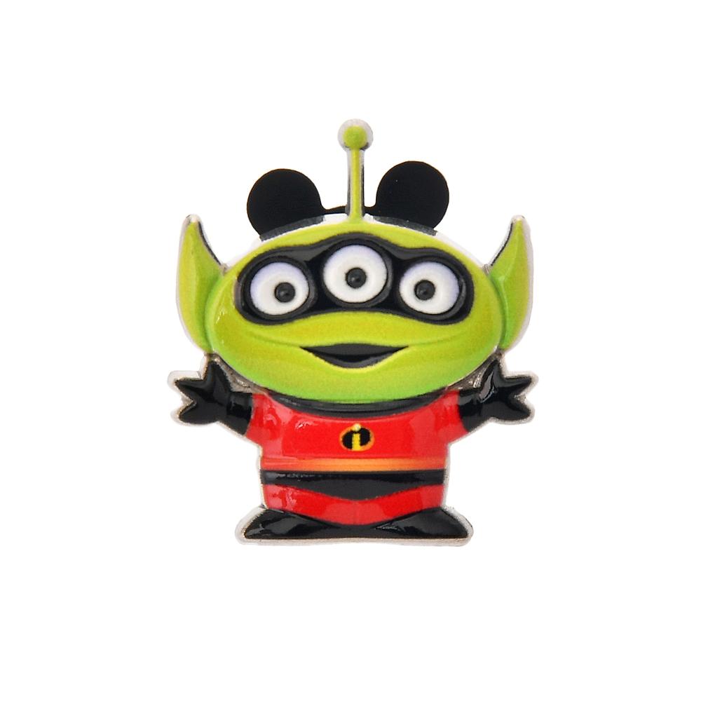 リトル・グリーン・メン/エイリアン ピンバッジ Mr.インクレディブルコスチュームエイリアン Toy Story 25th