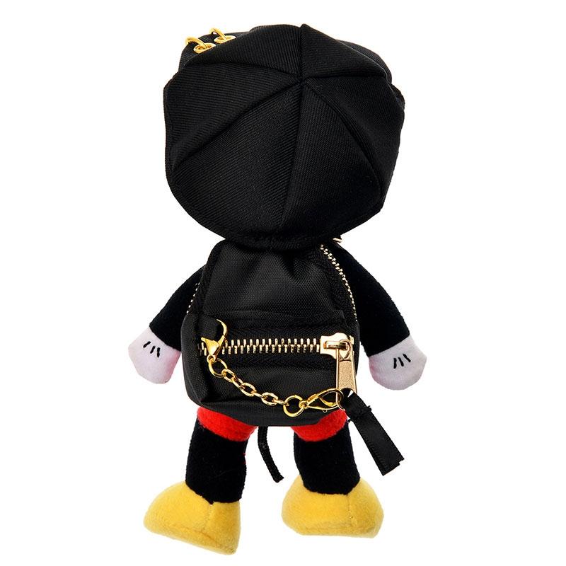 nuiMOs ぬいぐるみ専用リュックサック・バックパック セット ブラック&ゴールド