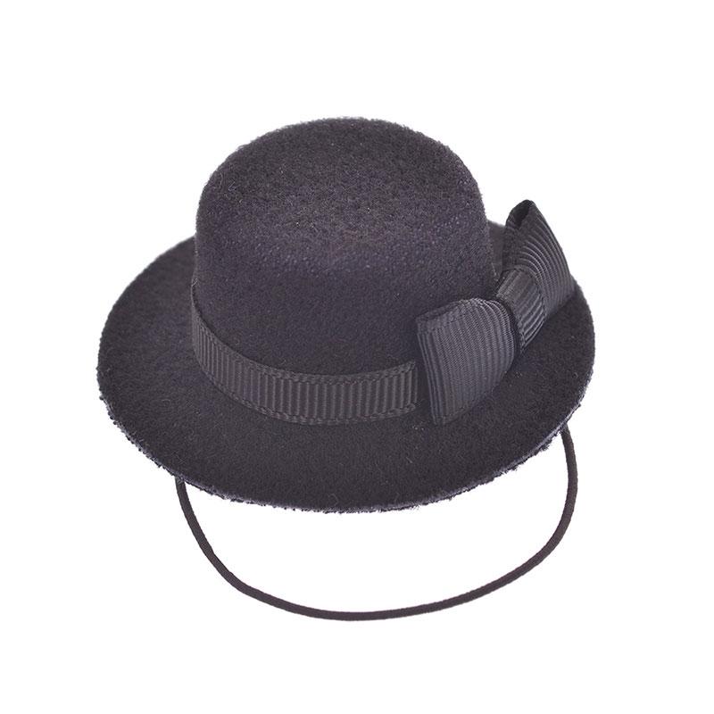 nuiMOs ぬいぐるみ専用帽子・ハット ブラック ボーイ