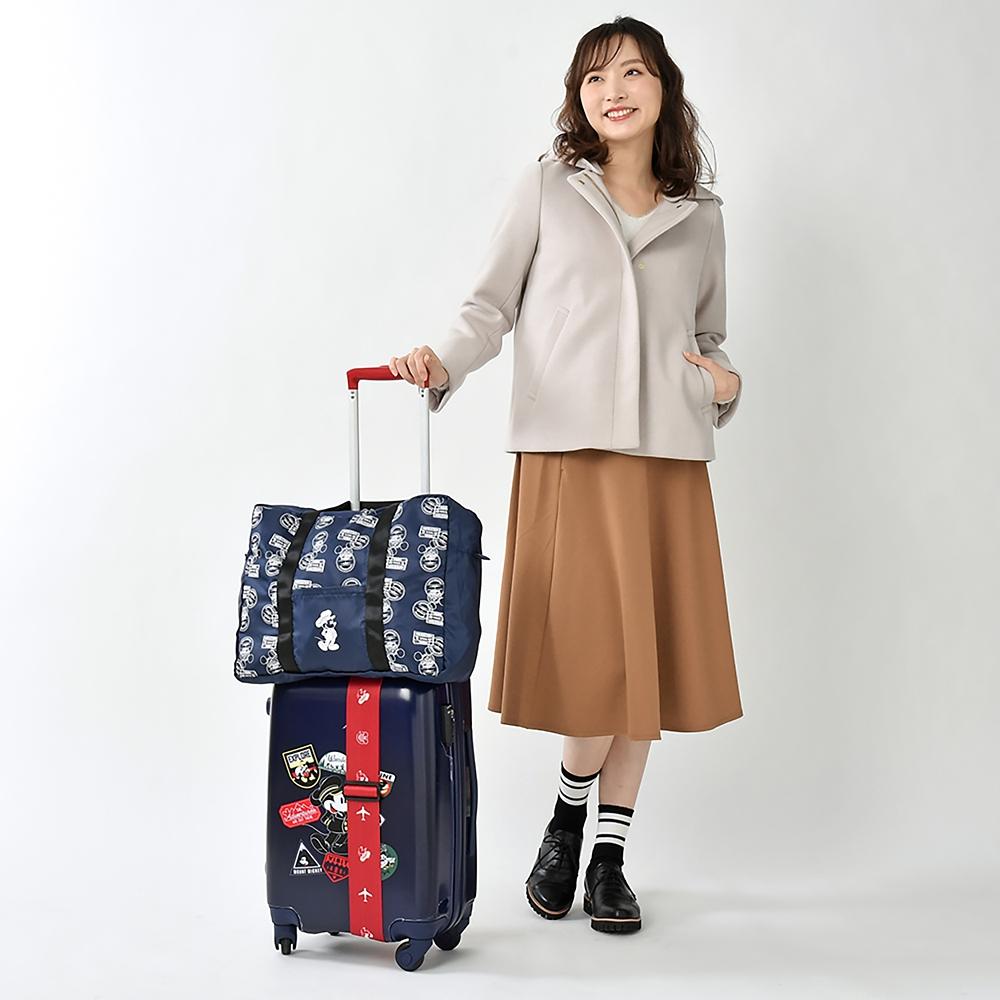 ミッキー スーツケース(S) Travel with Mickey