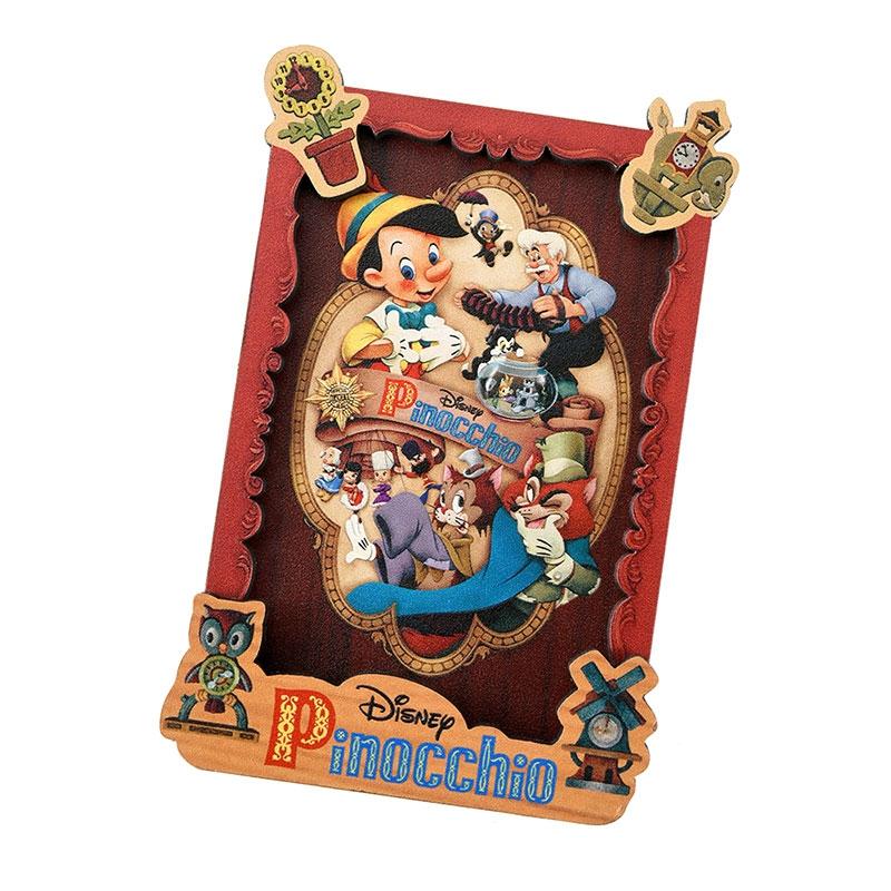 ピノキオ マグネット Pinocchio 80th