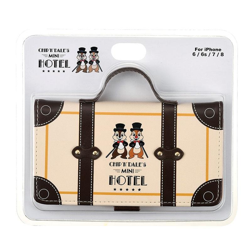 チップ&デール iPhone 6/6s/7/8用スマホケース・カバー Chip&Dale Mini Hotel