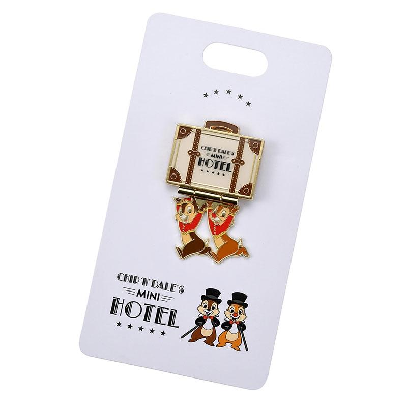 チップ&デール ピンバッジ Chip&Dale Mini Hotel