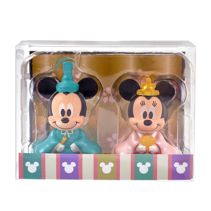 ミッキー&ミニー マスコット ひなまつり
