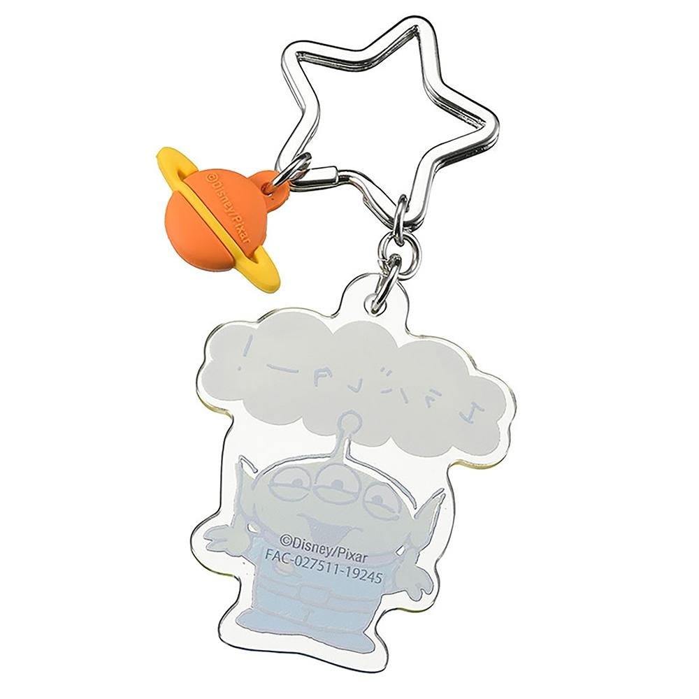 リトル・グリーン・メン/エイリアン キーホルダー・キーチェーン Speech Balloon