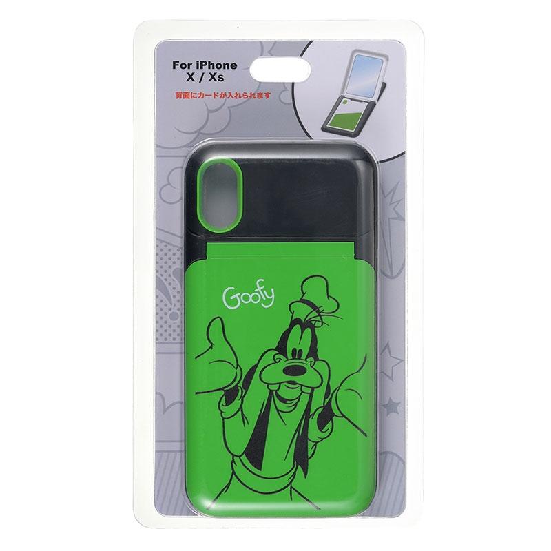グーフィー iPhone X/XS用スマホケース・カバー POP