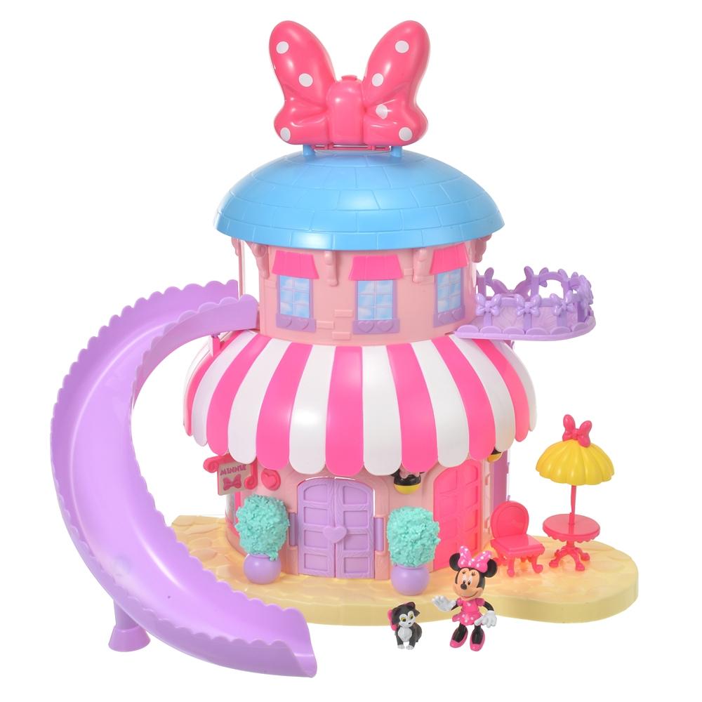 ミニー&フィガロ おもちゃ ハウス プレイセット