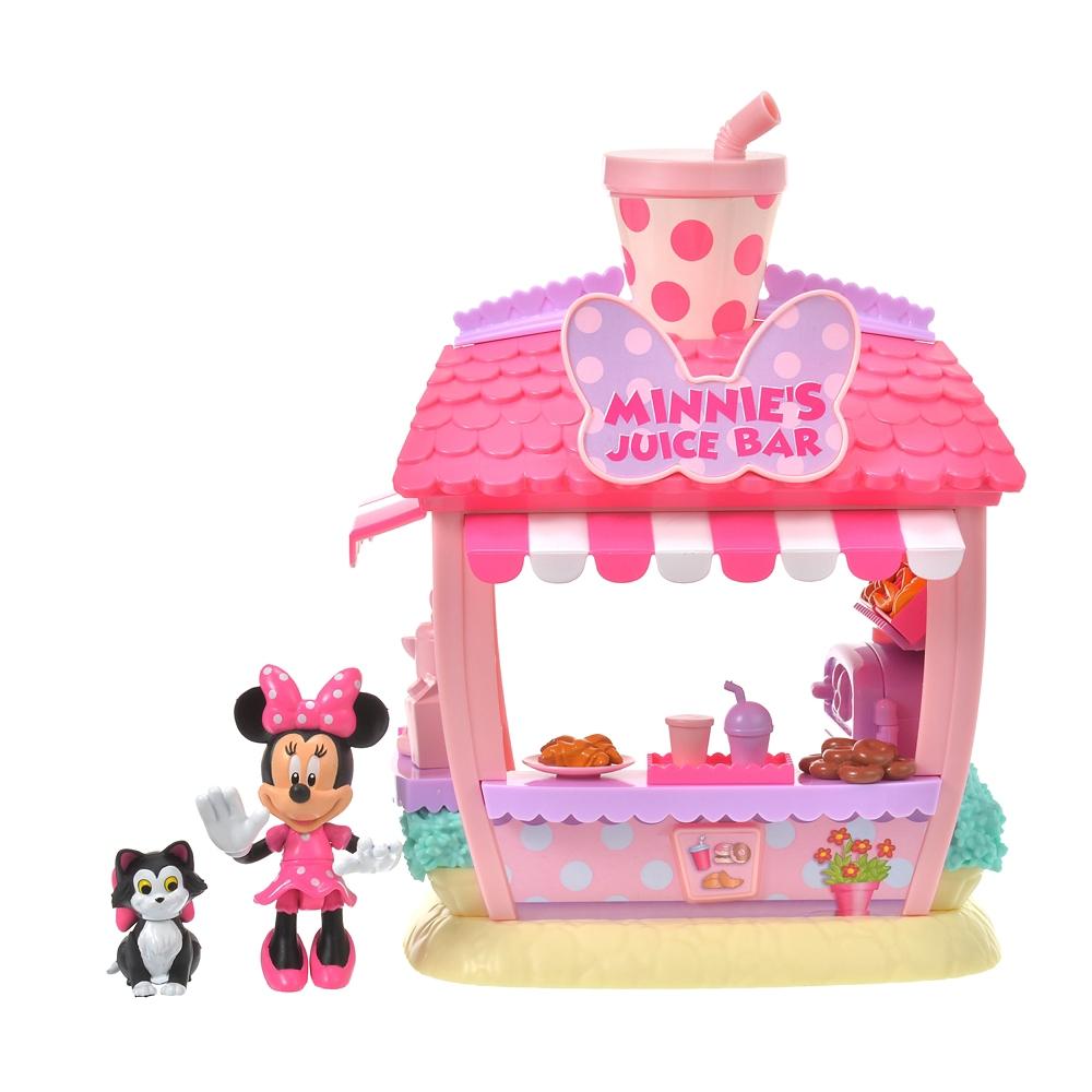 ミニー&フィガロ おもちゃ スムージーショップ プレイセット