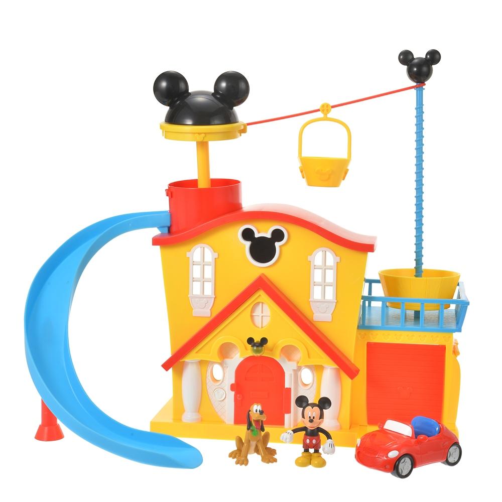 【送料無料】ミッキー&プルート おもちゃ ハウス プレイセット