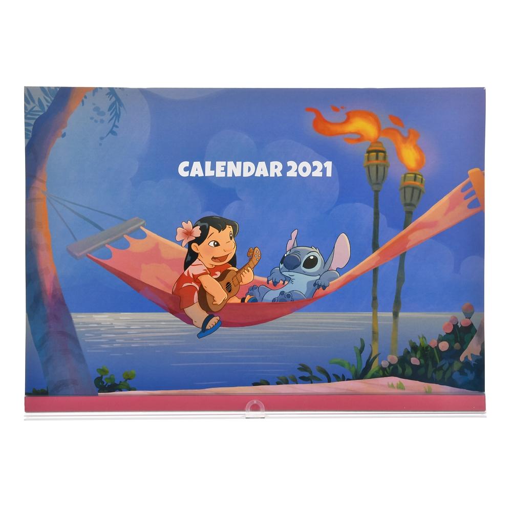 リロ&スティッチ 壁掛けカレンダー 2021