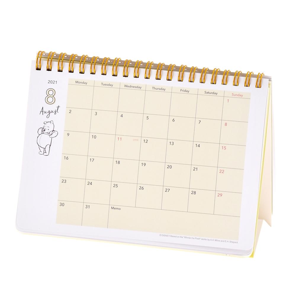 プー&フレンズ 卓上カレンダー 2021