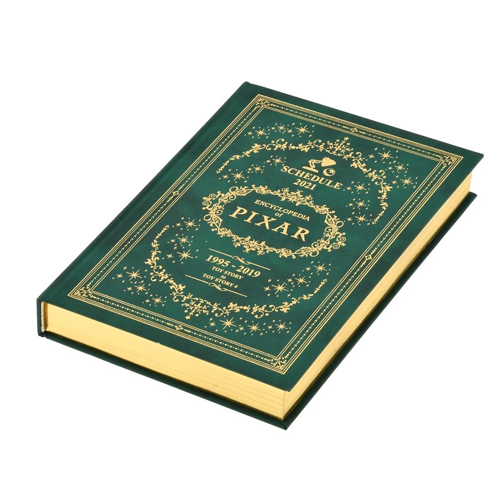 ピクサーキャラクター 手帳・スケジュール帳 2021 エンサイクロペディア・オブ・ディズニー 1995-2019 型押し