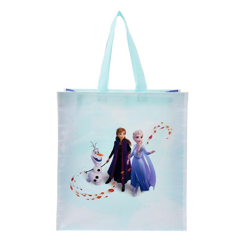 アナ、エルサ、オラフ ショッピングバッグ・エコバッグ アナと雪の女王2