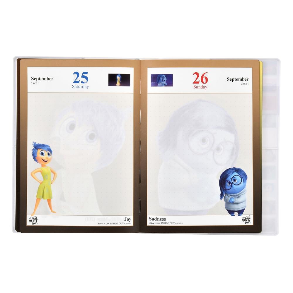 ピクサーキャラクター 手帳・スケジュール帳 2021 エンサイクロペディア・オブ・ディズニー 1995-2019