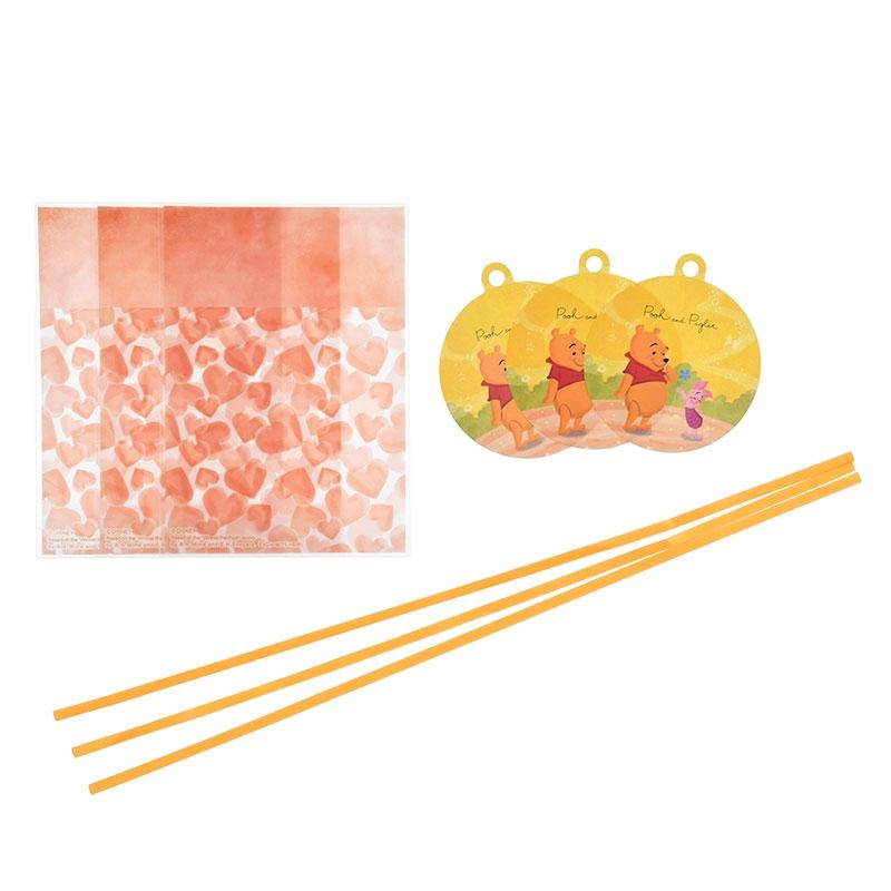 プーさん&ピグレット ラッピングバッグ Disney Valentine 2020