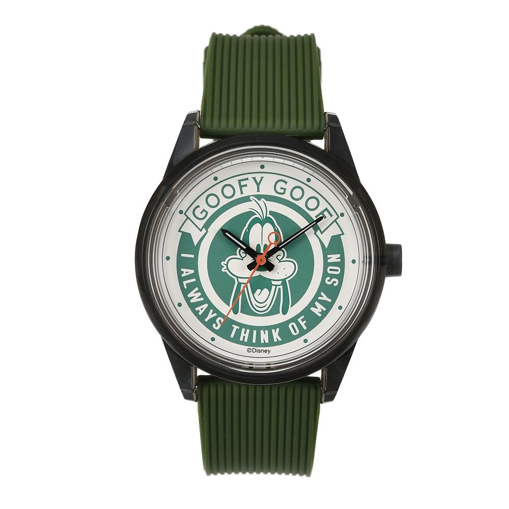 【アウトレット】【Q&Q SmileSolar】グーフィー 腕時計・ウォッチ We love Goofy 2020