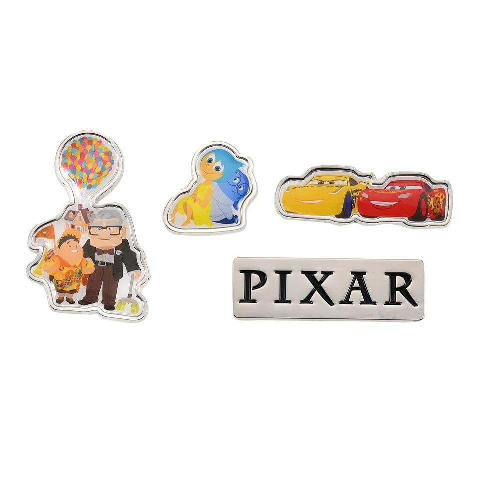 ピクサーキャラクター ピンバッジ セット Pixar Better Together
