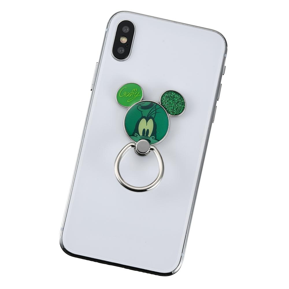 グーフィー スマートフォンリング アイコン Colors グリーン