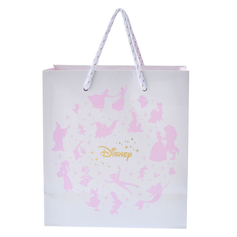 ディズニーキャラクター ペーパーバッグ(S) ピンク