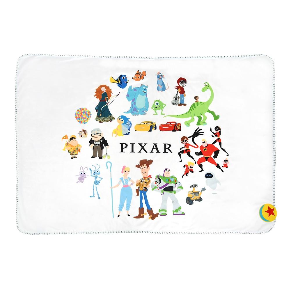 ピクサーキャラクター ブランケット Pixar Better Together