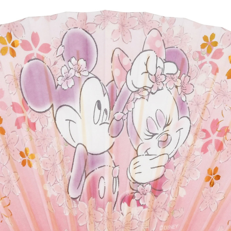 ミッキー&ミニー 扇子 Sakura 2020