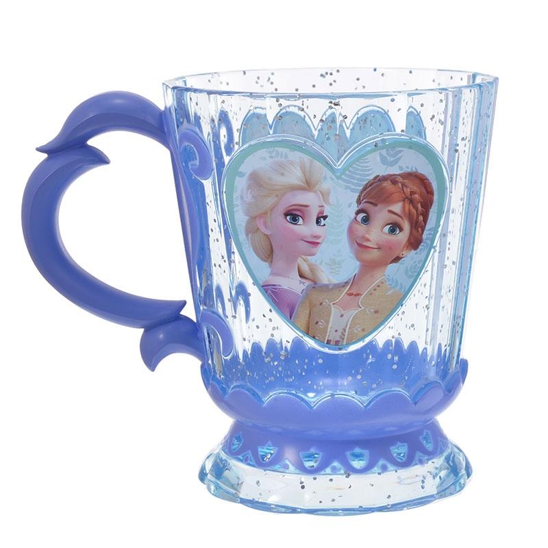 アナ&エルサ コップ クリア アナと雪の女王2