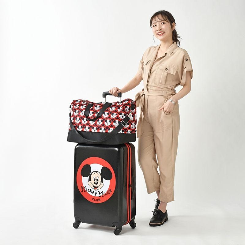 ミッキー スーツケース(M)・ボストンバッグ セット ミッキーマウス・クラブ