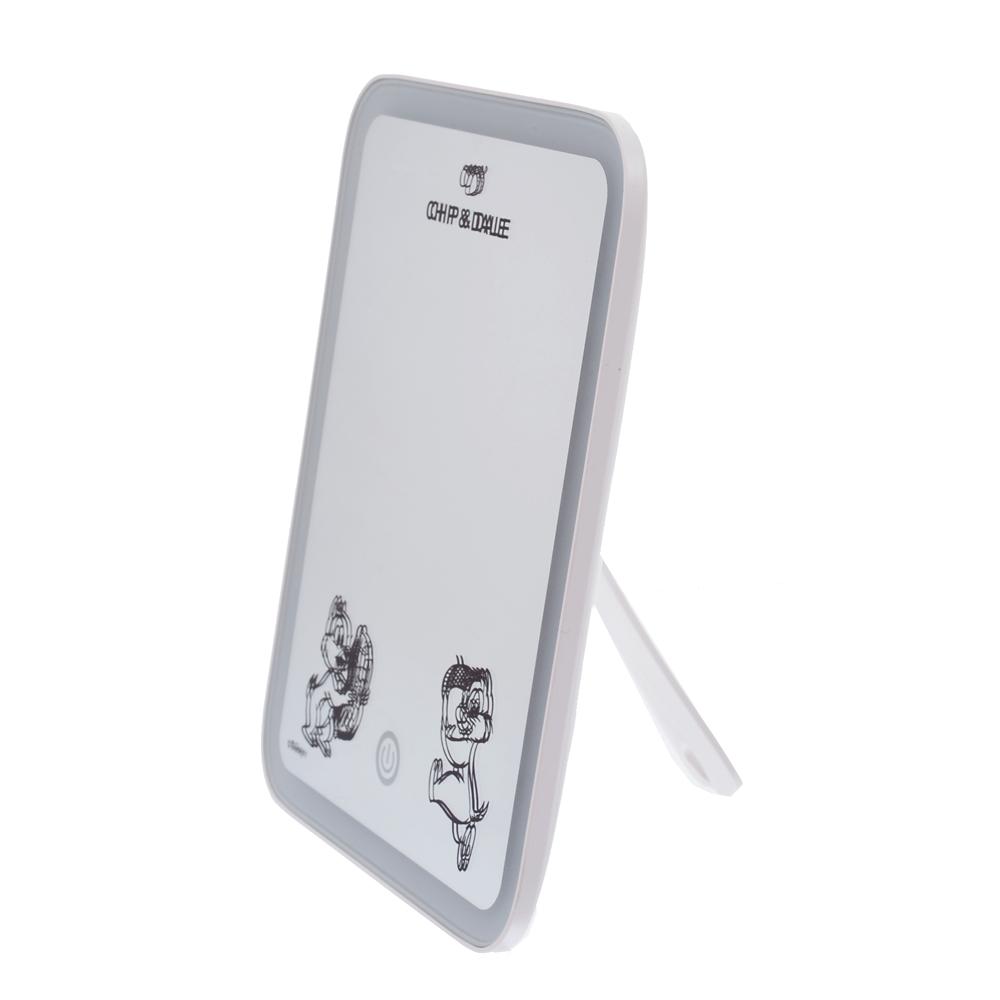 チップ&デール LEDスタンドミラー